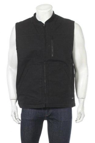 Мъжки елек Hurley, Размер L, Цвят Черен, 98% памук, 2% еластан, Цена 55,77лв.
