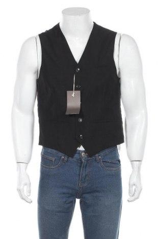 Ανδρικό γιλέκο Man's World, Μέγεθος L, Χρώμα Μαύρο, Πολυεστέρας, Τιμή 19,77€