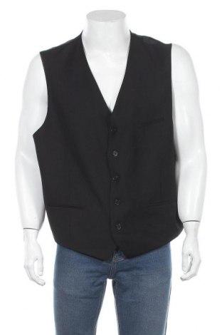 Ανδρικό γιλέκο Man's World, Μέγεθος XL, Χρώμα Μαύρο, Πολυεστέρας, Τιμή 20,21€