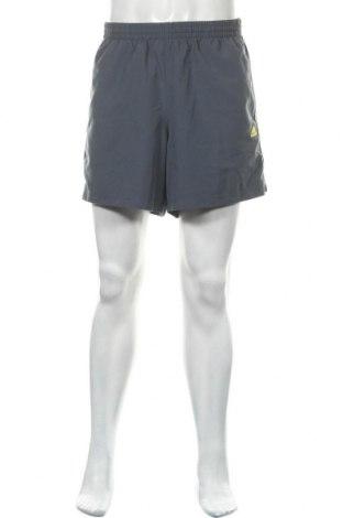 Ανδρικό κοντό παντελόνι Adidas, Μέγεθος XL, Χρώμα Γκρί, Πολυεστέρας, Τιμή 12,28€