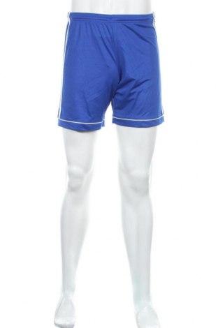 Мъжки къс панталон Adidas, Размер S, Цвят Син, Полиестер, Цена 26,25лв.