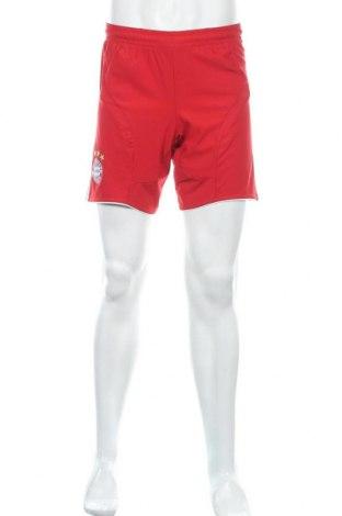 Мъжки къс панталон Adidas, Размер S, Цвят Червен, Полиестер, Цена 19,95лв.