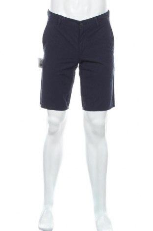 Мъжки къс панталон Boss Orange, Размер M, Цвят Син, Памук, Цена 81,12лв.