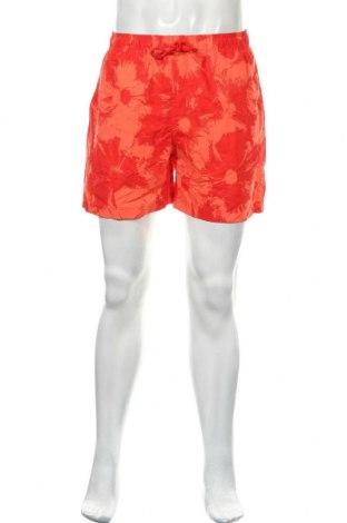 Ανδρικό κοντό παντελόνι Charles Vogele, Μέγεθος L, Χρώμα Πορτοκαλί, Πολυεστέρας, Τιμή 11,04€