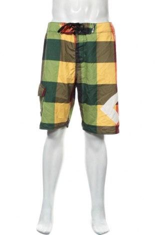 Мъжки къс панталон DC Shoes, Размер L, Цвят Многоцветен, Полиестер, Цена 35,28лв.