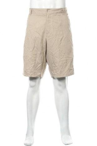 Мъжки къс панталон Fila, Размер XL, Цвят Бежов, Полиестер, Цена 3,00лв.