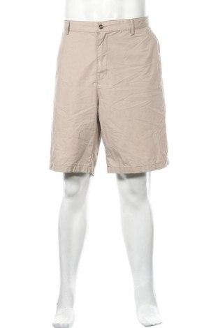 Мъжки къс панталон Fox, Размер XXL, Цвят Бежов, 65% полиестер, 35% памук, Цена 17,64лв.