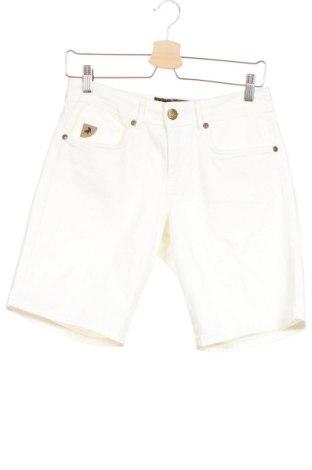 Мъжки къс панталон Lois, Размер S, Цвят Бял, 98% памук, 2% еластан, Цена 44,25лв.