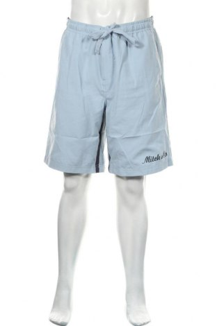 Мъжки къс панталон Mitch & Co., Размер L, Цвят Син, 92% полиестер, 8% еластан, Цена 12,29лв.