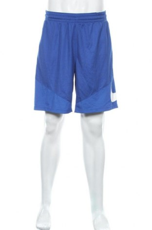 Мъжки къс панталон Nike, Размер L, Цвят Син, Полиестер, Цена 35,70лв.