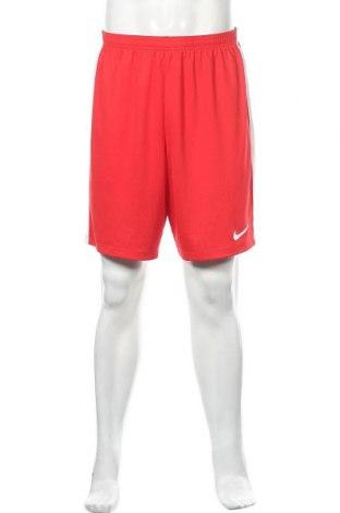 Мъжки къс панталон Nike, Размер XL, Цвят Червен, Полиестер, Цена 11,34лв.