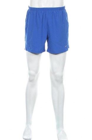 Мъжки къс панталон Nike Running, Размер M, Цвят Син, Цена 28,35лв.