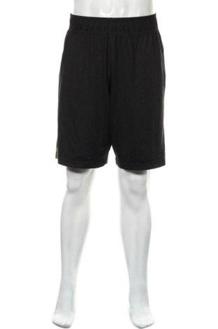 Мъжки къс панталон Rbx, Размер L, Цвят Черен, 90% полиестер, 10% еластан, Цена 17,01лв.
