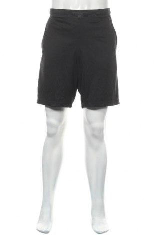 Мъжки къс панталон Reebok, Размер L, Цвят Черен, Полиестер, Цена 26,25лв.