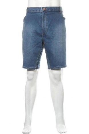 Мъжки къс панталон River Island, Размер XXL, Цвят Син, 98% памук, 2% еластан, Цена 41,60лв.