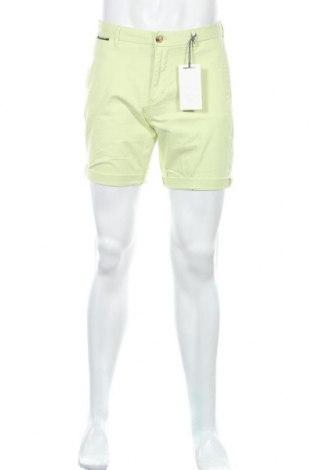 Мъжки къс панталон Scotch & Soda, Размер S, Цвят Зелен, 98% памук, 2% еластан, Цена 96,75лв.