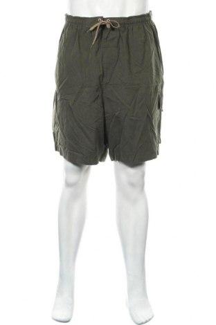 Мъжки къс панталон Sportek, Размер XL, Цвят Зелен, 100% полиестер, Цена 5,78лв.