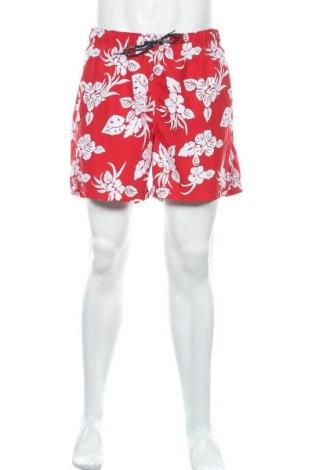 Ανδρικό κοντό παντελόνι Tommy Hilfiger, Μέγεθος XL, Χρώμα Κόκκινο, Πολυεστέρας, Τιμή 17,66€