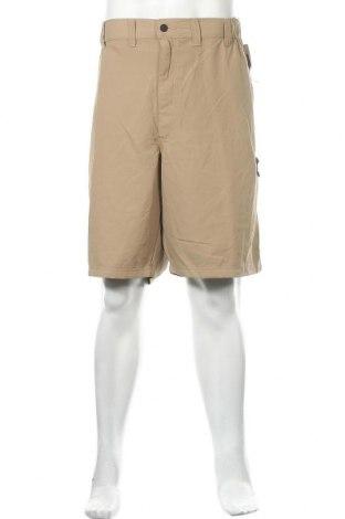 Мъжки къс панталон Wrangler, Размер XXL, Цвят Бежов, Полиестер, Цена 47,09лв.