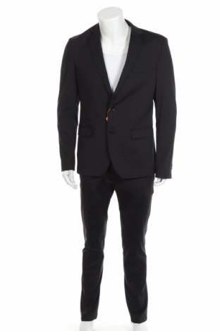 Мъжки костюм Bruno Banani, Размер M, Цвят Черен, 94% полиамид, 6% еластан, Цена 64,75лв.