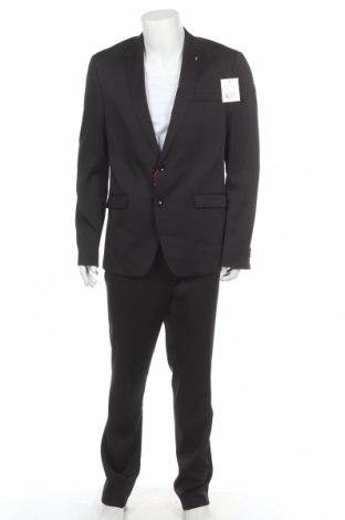 Ανδρικό κοστούμι Bruno Banani, Μέγεθος L, Χρώμα Μαύρο, 84% πολυεστέρας, 14% βισκόζη, 2% ελαστάνη, Τιμή 62,40€
