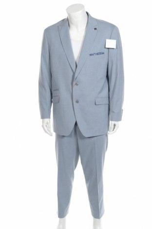 Ανδρικό κοστούμι Bruno Banani, Μέγεθος XL, Χρώμα Μπλέ, 69% πολυεστέρας, 29% βισκόζη, 2% ελαστάνη, Τιμή 104,00€