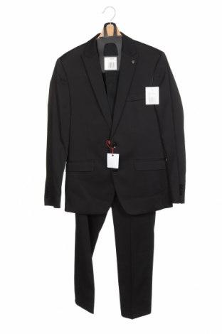 Costum de bărbați Bruno Banani, Mărime S, Culoare Negru, 84% poliester, 14% viscoză, 2% elastan, Preț 221,22 Lei