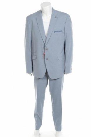 Мъжки костюм Bruno Banani, Размер XXL, Цвят Син, 69% полиестер, 29% вискоза, 2% еластан, Цена 103,60лв.