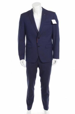 Ανδρικό κοστούμι Bruno Banani, Μέγεθος L, Χρώμα Μπλέ, 69% πολυεστέρας, 29% βισκόζη, 2% ελαστάνη, Τιμή 104,00€