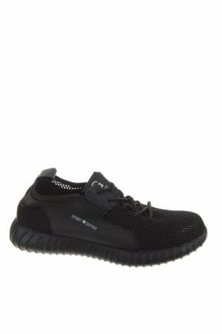Pánské boty, Velikost 42, Barva Černá, Textile , Eko kůže, Cena  446,00Kč