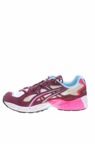 Мъжки обувки ASICS, Размер 43, Цвят Многоцветен, Естествен велур, текстил, еко кожа, Цена 104,25лв.