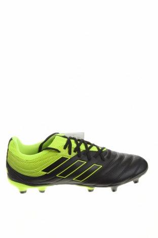Ανδρικά παπούτσια Adidas, Μέγεθος 44, Χρώμα Μαύρο, Δερματίνη, Τιμή 46,08€