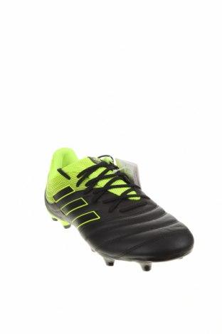 Ανδρικά παπούτσια Adidas, Μέγεθος 44, Χρώμα Μαύρο, Δερματίνη, Τιμή 57,60€