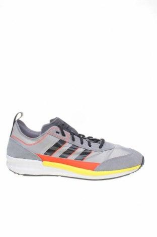 Мъжки обувки Adidas Originals, Размер 46, Цвят Сив, Текстил, естествен велур, Цена 126,75лв.