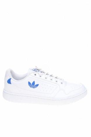 Мъжки обувки Adidas Originals, Размер 46, Цвят Бял, Еко кожа, Цена 111,75лв.