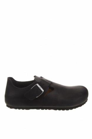 Мъжки обувки Birkenstock, Размер 44, Цвят Черен, Естествена кожа, Цена 171,75лв.