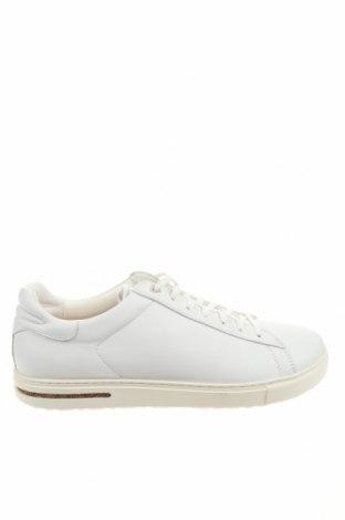 Мъжки обувки Birkenstock, Размер 45, Цвят Бял, Естествена кожа, Цена 164,25лв.