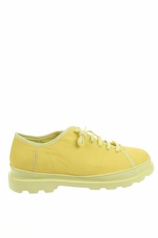 Мъжки обувки Camper, Размер 45, Цвят Жълт, Текстил, Цена 164,25лв.
