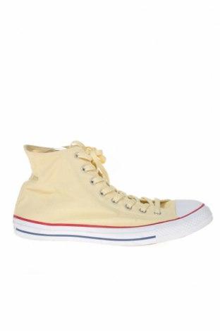 Мъжки обувки Converse, Размер 46, Цвят Жълт, Текстил, Цена 45,36лв.