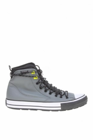 Мъжки обувки Converse, Размер 50, Цвят Сив, Естествена кожа, Цена 119,25лв.