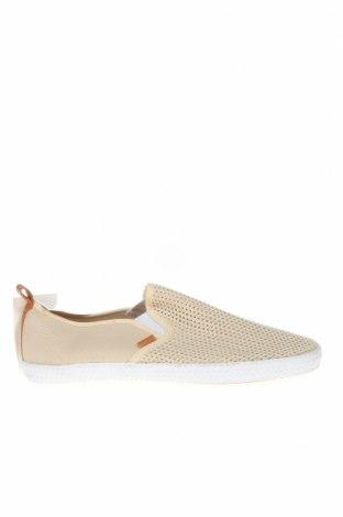 Мъжки обувки H&M, Размер 41, Цвят Бежов, Текстил, Цена 25,94лв.