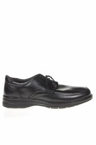 Мъжки обувки Hush Puppies, Размер 44, Цвят Черен, Естествена кожа, Цена 65,10лв.