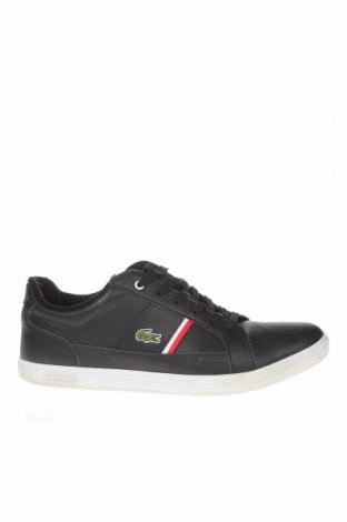 Ανδρικά παπούτσια Lacoste, Μέγεθος 44, Χρώμα Μαύρο, Γνήσιο δέρμα, δερματίνη, Τιμή 59,98€