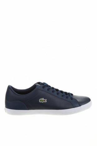 Мъжки обувки Lacoste, Размер 48, Цвят Син, Еко кожа, Цена 119,25лв.