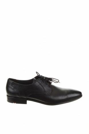 Мъжки обувки Lloyd, Размер 44, Цвят Черен, Естествена кожа, Цена 141,75лв.