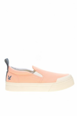 Мъжки обувки Lyle & Scott, Размер 40, Цвят Розов, Текстил, Цена 89,25лв.