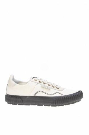 Мъжки обувки Lyle & Scott, Размер 41, Цвят Бял, Естествена кожа, текстил, Цена 106,50лв.