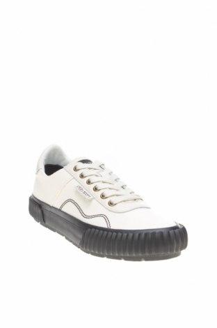 Ανδρικά παπούτσια Lyle & Scott, Μέγεθος 41, Χρώμα Λευκό, Γνήσιο δέρμα, κλωστοϋφαντουργικά προϊόντα, Τιμή 54,90€