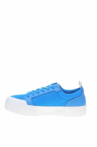 Мъжки обувки Lyle & Scott, Размер 40, Цвят Син, Естествена кожа, текстил, Цена 106,50лв.