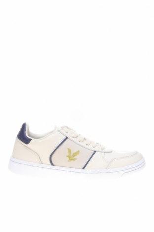 Мъжки обувки Lyle & Scott, Размер 41, Цвят Бежов, Естествена кожа, естествен велур, Цена 136,50лв.